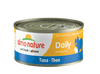 Almo Nature Cat HQS Daily Tuna 24 Cans 2.47 oz 70 g Each