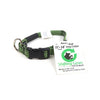 Shifting Gears - MADE IN USA, Quick Shift Small Dog Collar, Recycled rock climbing rope