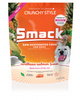 Smack Pet Crunchy Raw Dehydrated Dog Food GMO Gluten Grain Antibiotic Free Caribbean Salmon Waggles