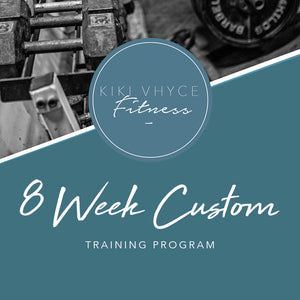 8 WEEK TRAINING PROGRAM