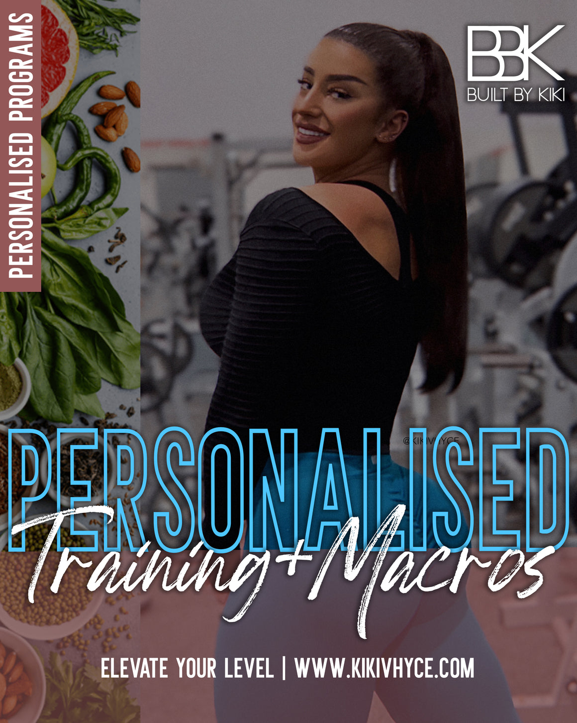 PERSONALISED PROGRAM: TRAINING + MACROS