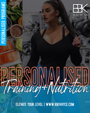 PERSONALISED PROGRAM: TRAINING + NUTRITION