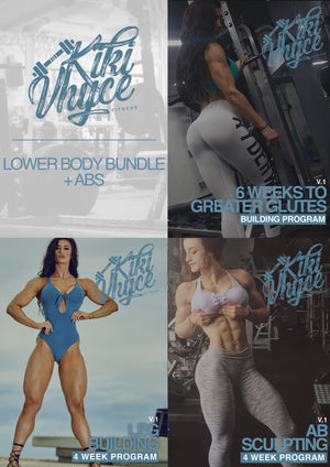 LOWER BODY PROGRAM BUNDLE + ABS