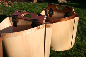 Curly Maple Market Pannier