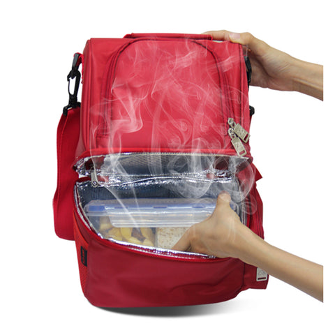 USB Heating Insulated Lunch Bag Beverage Carrier Bag