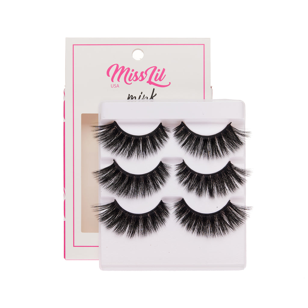 3 Pairs Lashes - Lash Party Collection #18