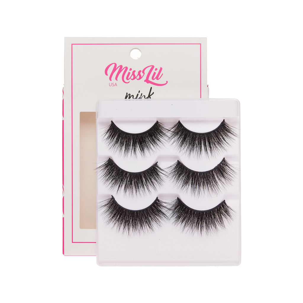 3 Pairs Lashes - Lash Party Collection #4