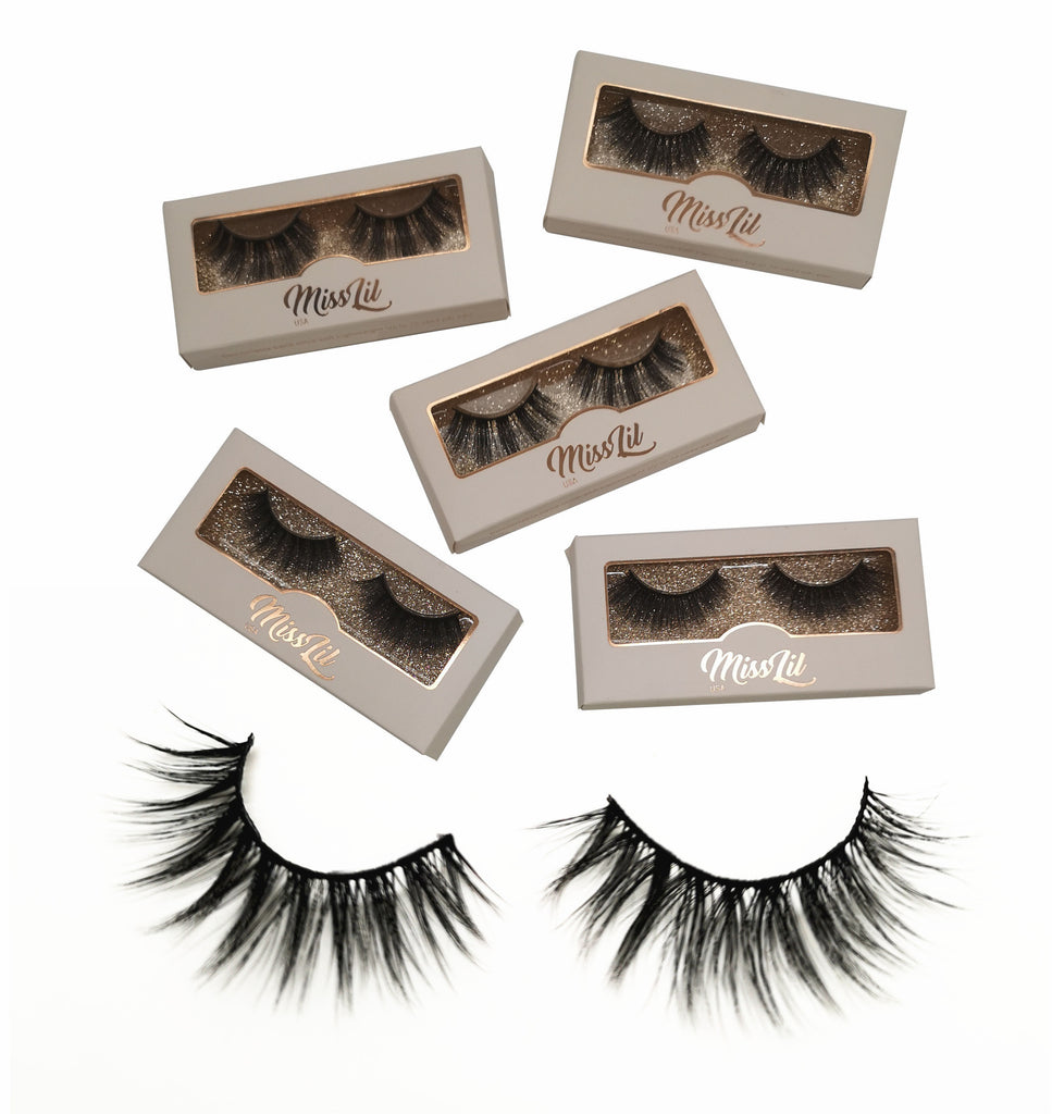 Miss Lil USA Lashes (5 pairs) #28