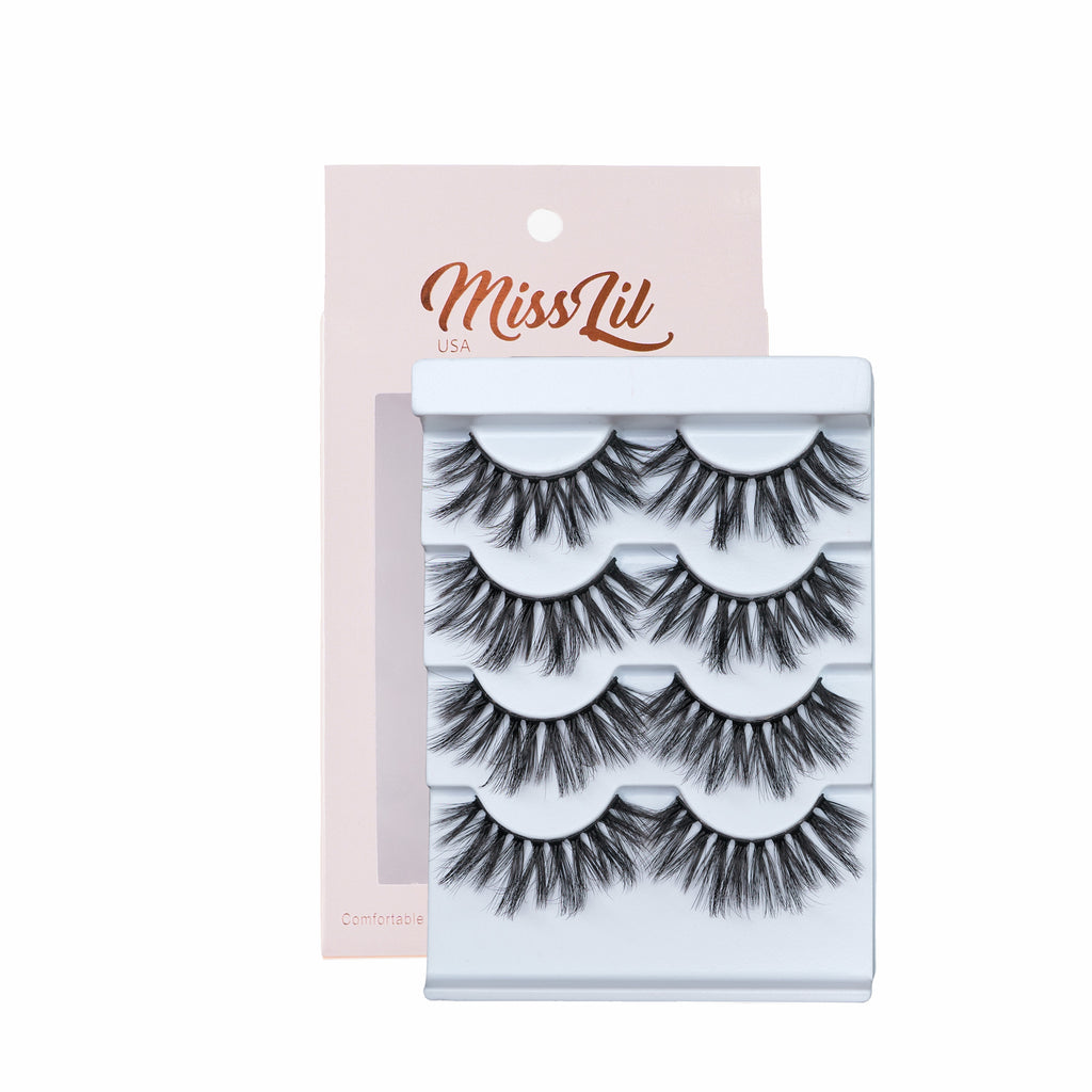 4 Pairs Lashes - Classic Collection #11