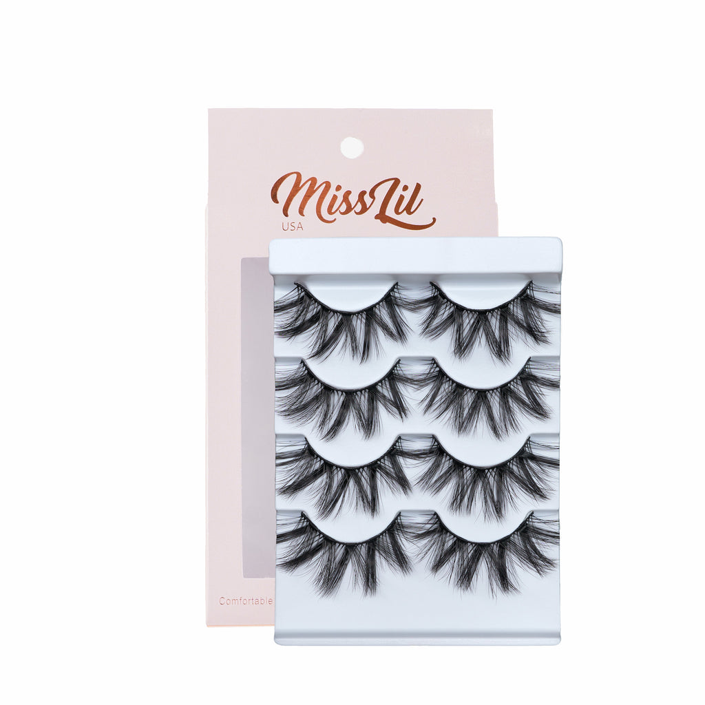 4 Pairs Lashes - Classic Collection #14