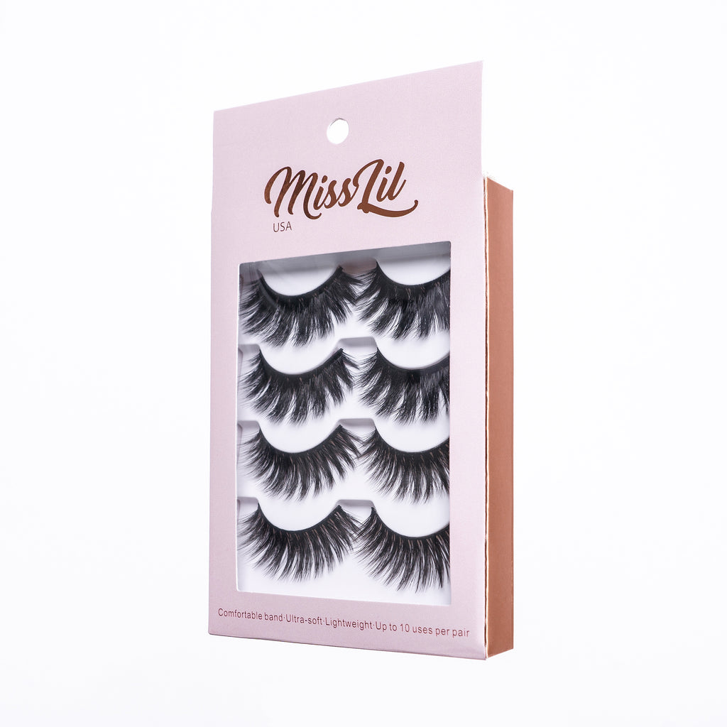 4 Pairs Lashes - Classic Collection #16