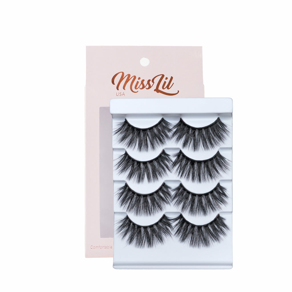 4 Pairs Lashes - Classic Collection #17