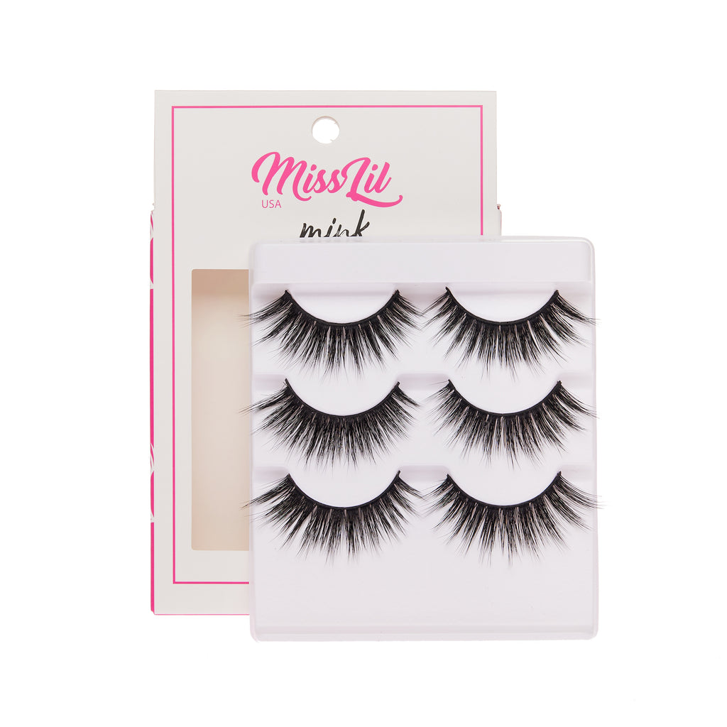 3 Pairs Lashes - Lash Party Collection #23