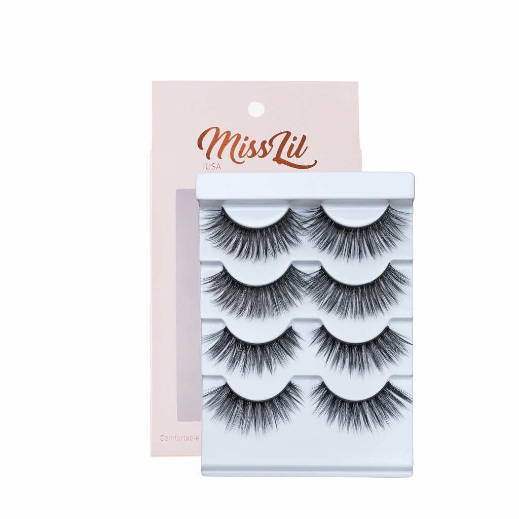 4 Pairs Lashes - Classic Collection #19
