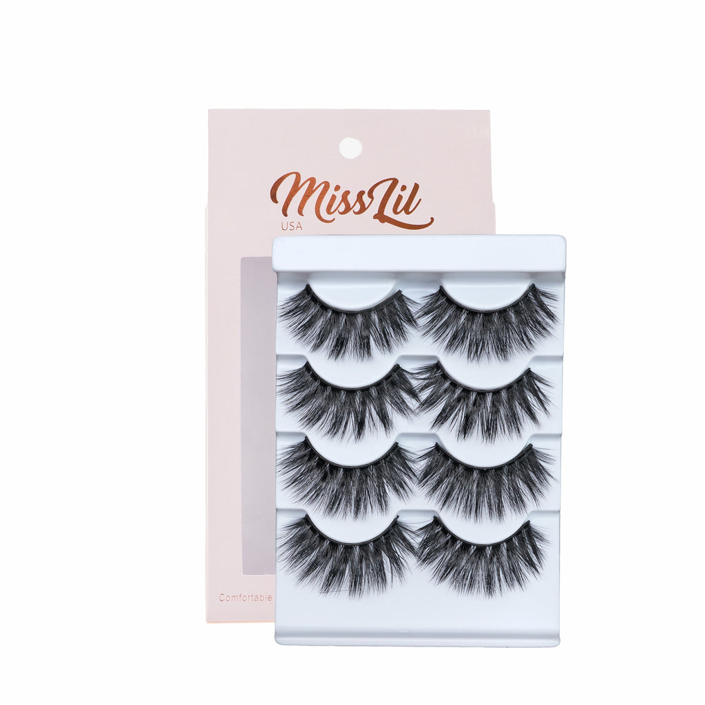 4 Pairs Lashes - Classic Collection #20