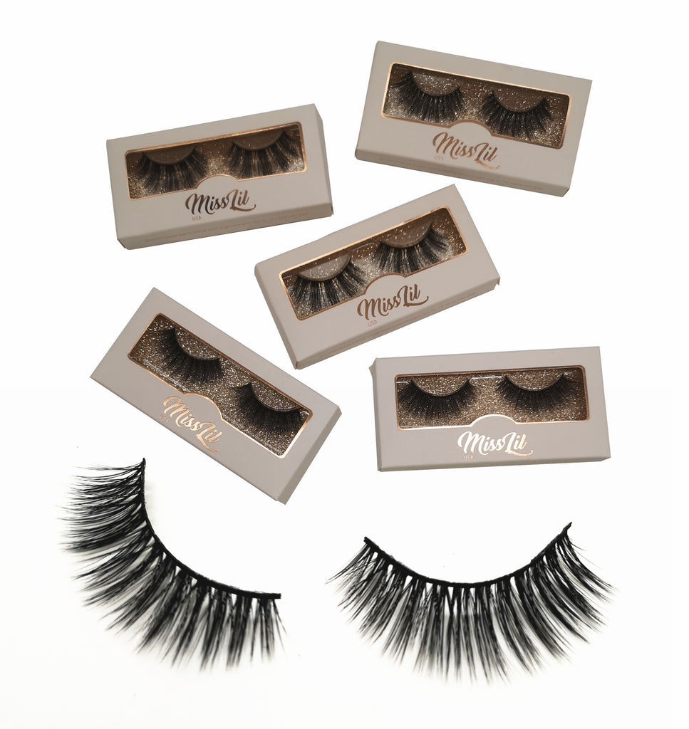 Miss Lil USA Lashes ( 5 pairs ) #12