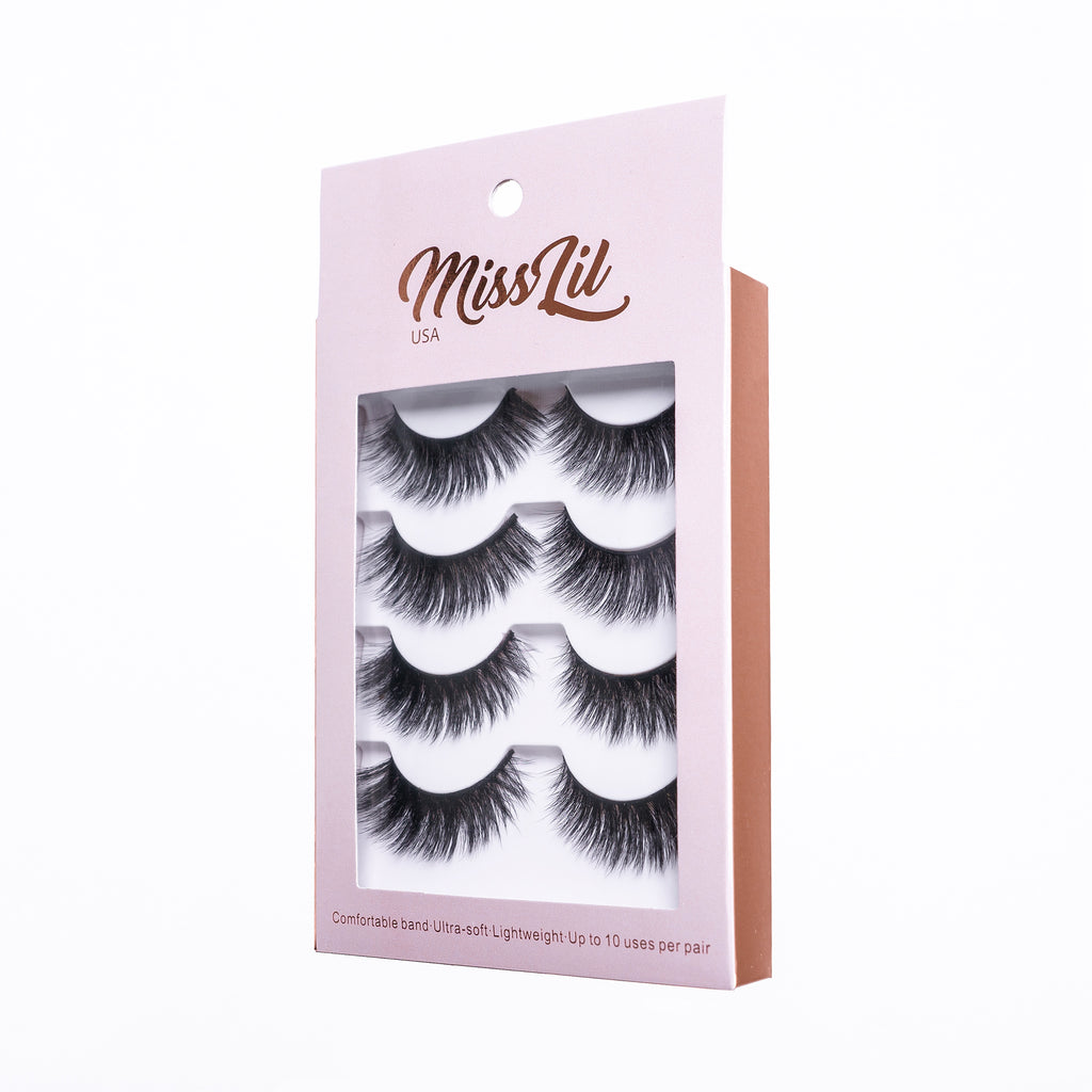 4 Pairs Lashes - Classic Collection #3