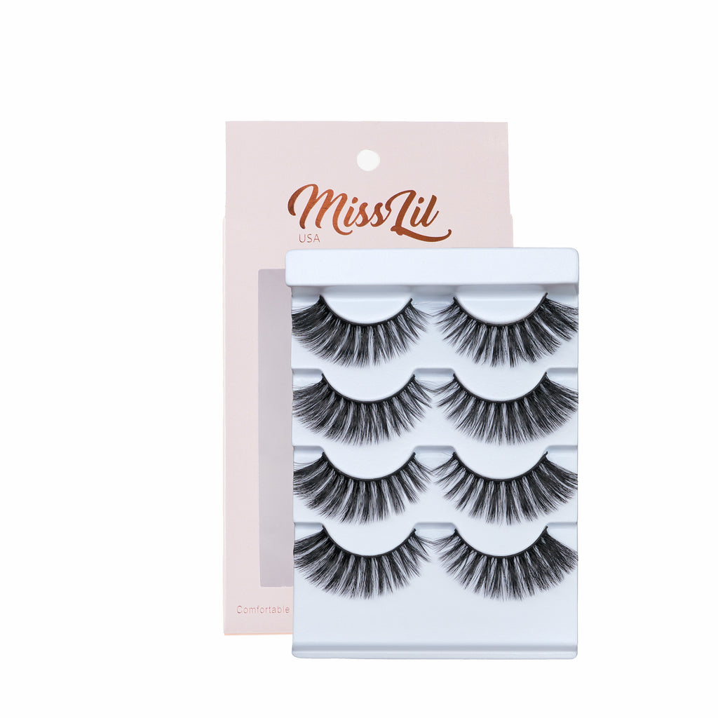 4 Pairs Lashes - Classic Collection #30