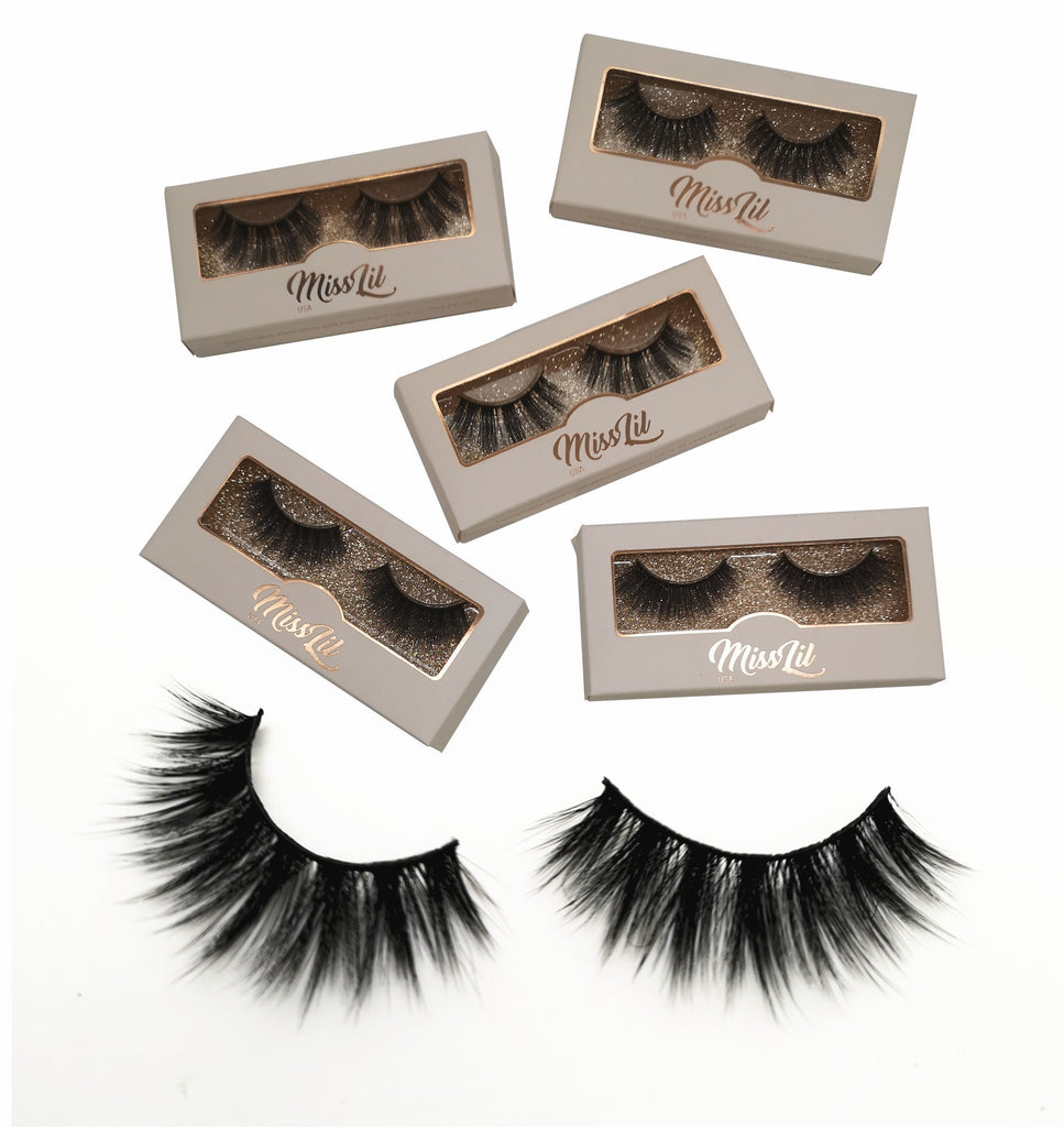 Miss Lil USA Lashes ( 5 pairs ) #27
