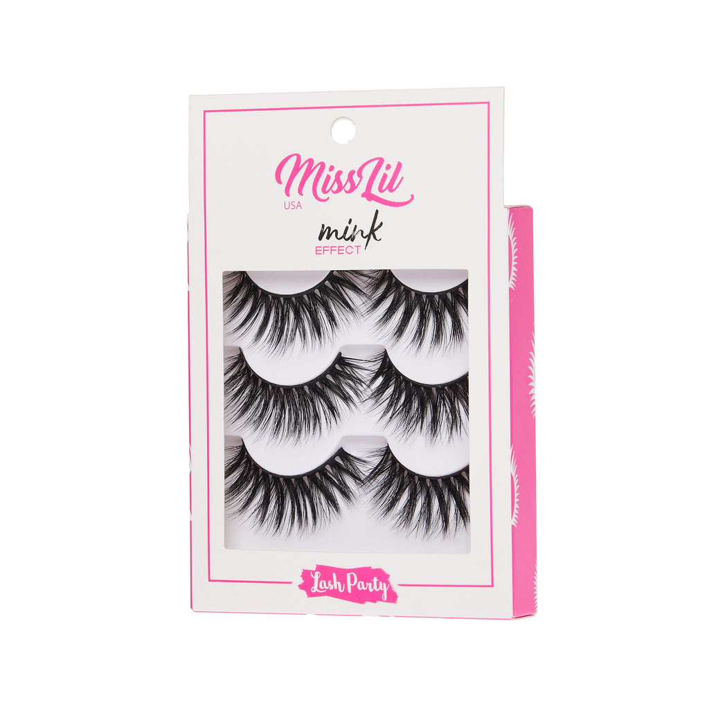 3 Pairs Lashes - Lash Party Collection #20