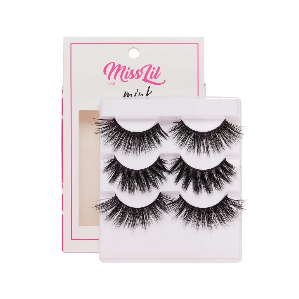 3 Pairs Lashes - Lash Party Collection #26