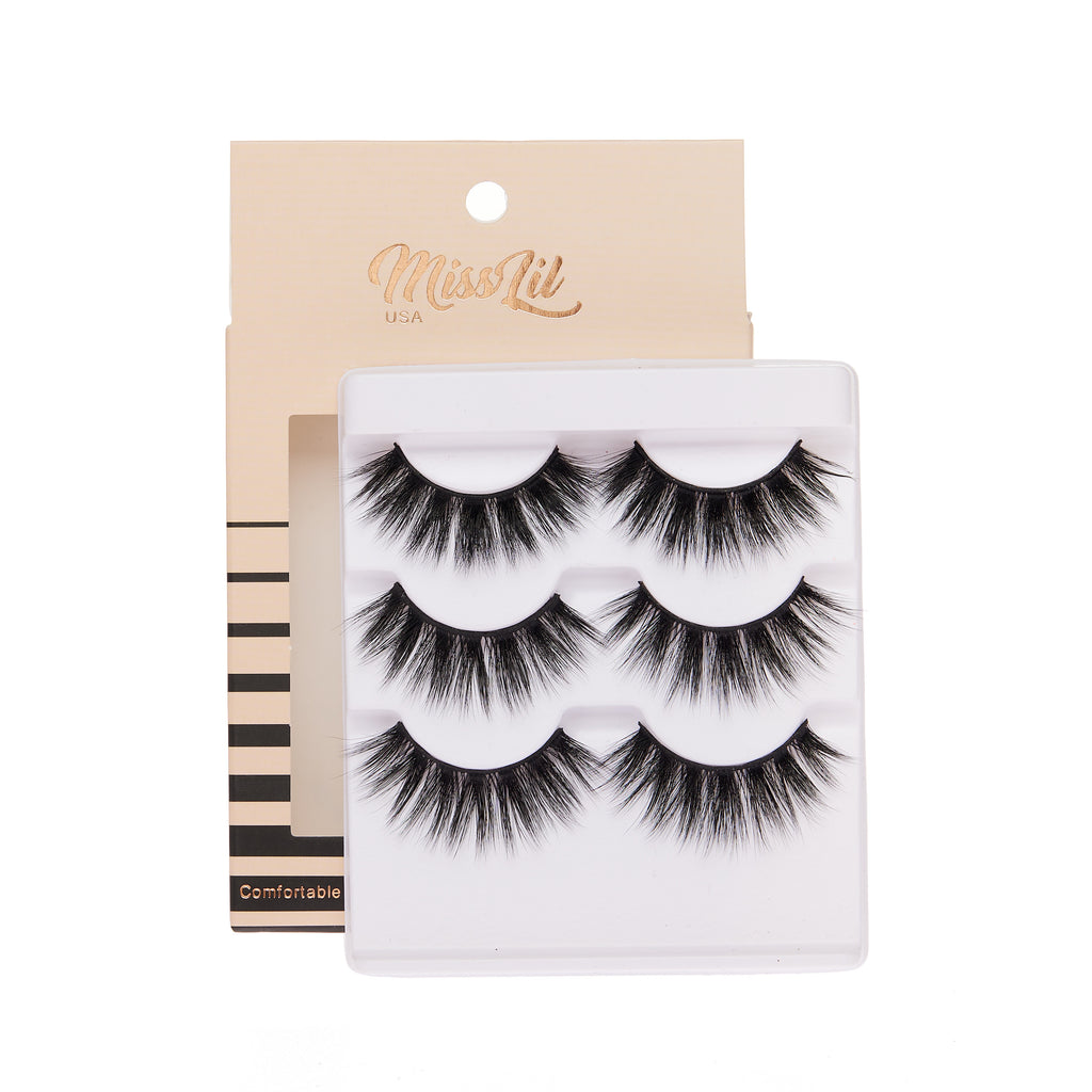 3 Pairs Lashes - Luxury Collection #15