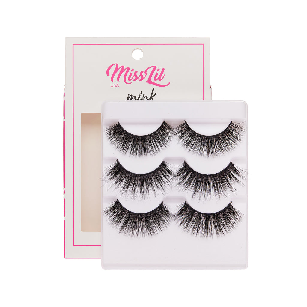 3 Pairs Lashes - Lash Party Collection #12