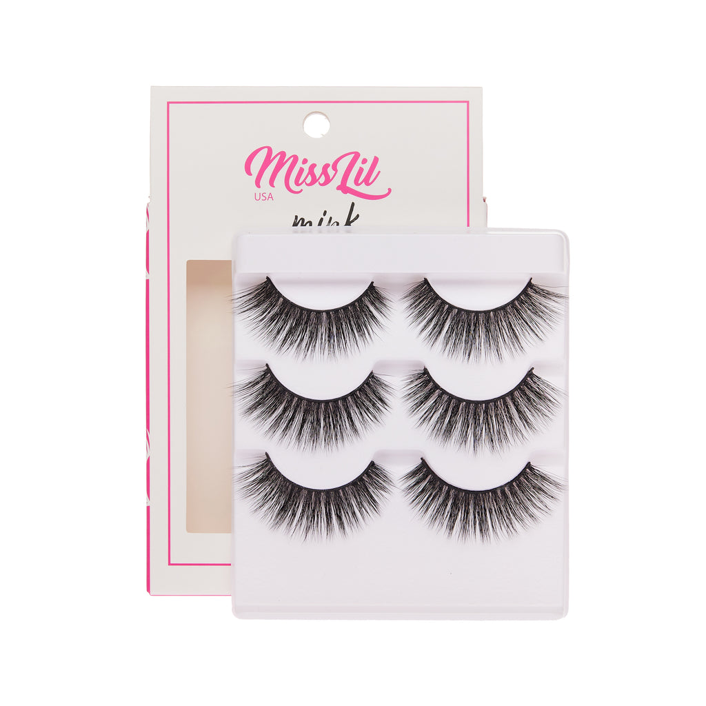 3 Pairs Lashes - Lash Party Collection #10