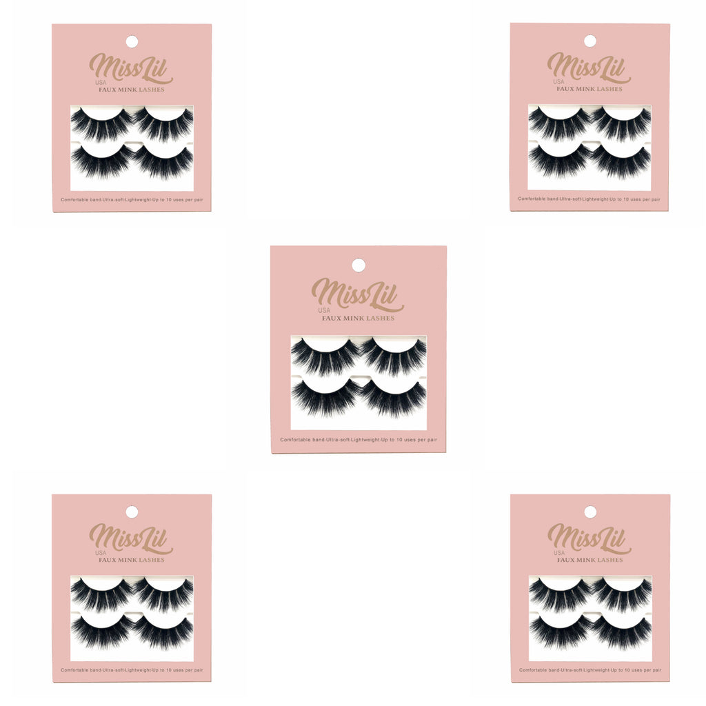 Miss Lil USA Lashes (5 Boxes) #4