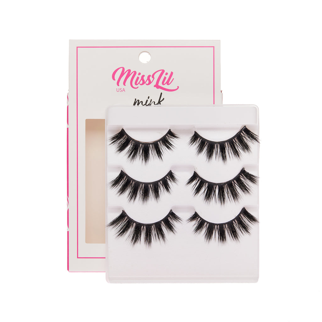 3 Pairs Lashes - Lash Party Collection #19