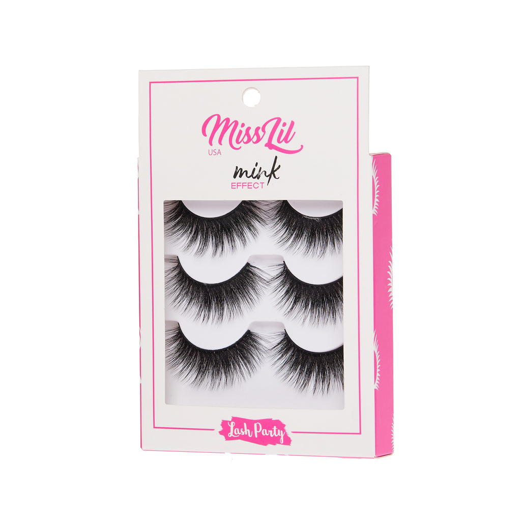3 Pairs Lashes - Lash Party Collection #6