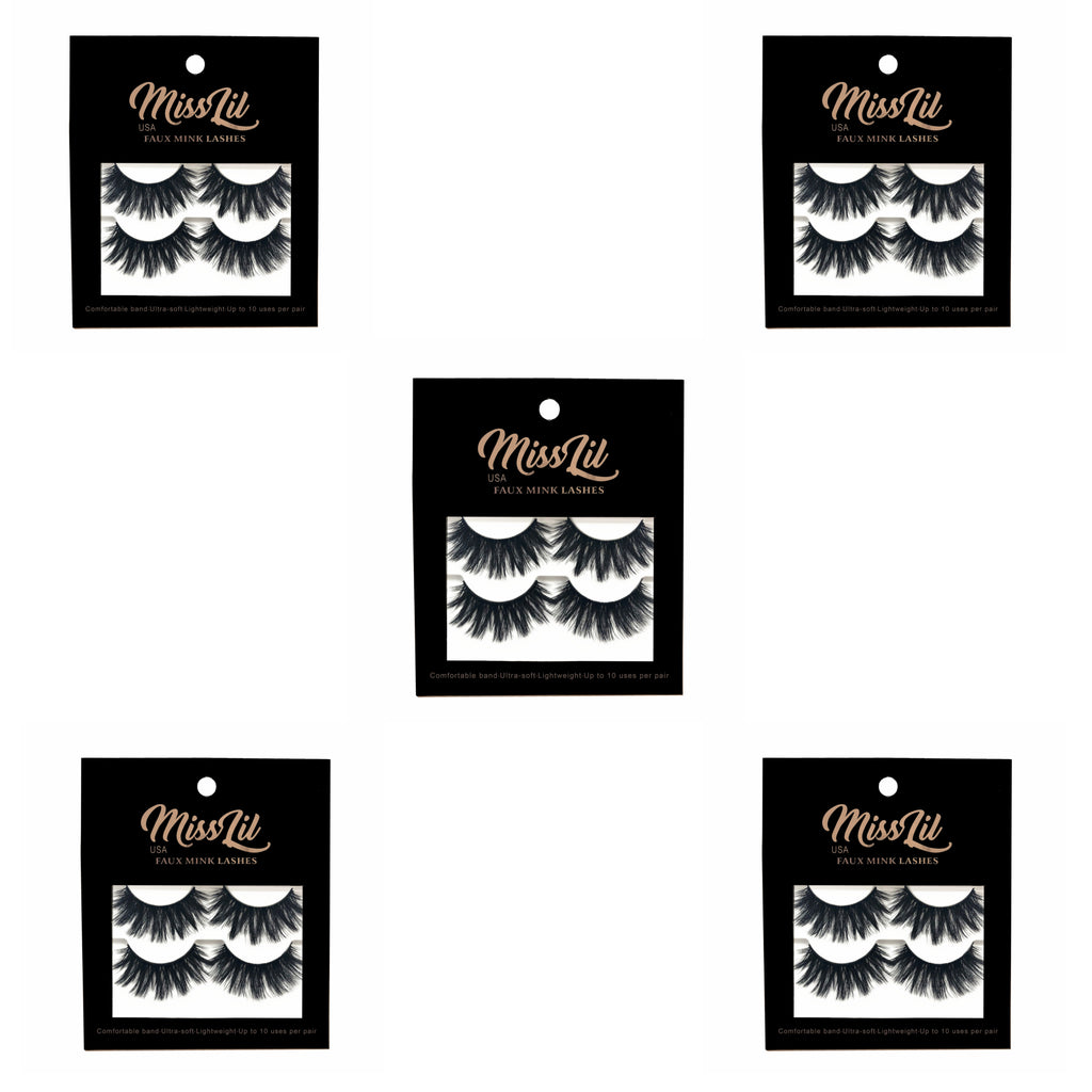 Miss Lil USA Lashes ( 5 Boxes ) # 5