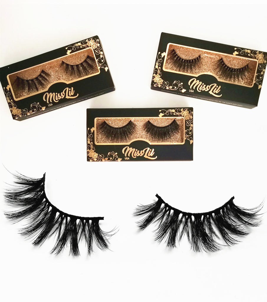Miss Lil USA Lashes ( 3 pairs ) #45