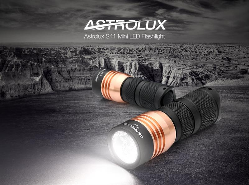 Astrolux S41 Flashlight (Aluminum)