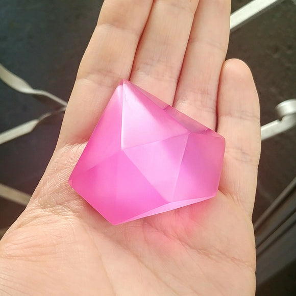 Steven Universe SMALL Pink Diamond Resin Cosplay Gem