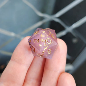 Corrupted Treasure Matte Single d20