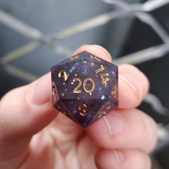Light in the Abyss Matte Single d20