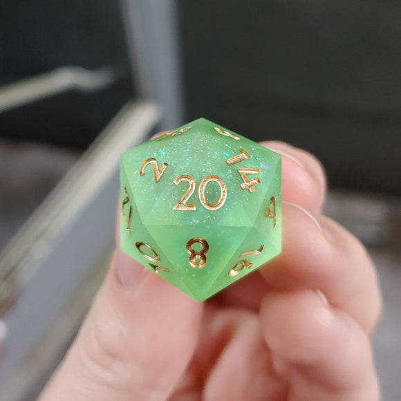 Sparkling Green Apple Matte Single d20