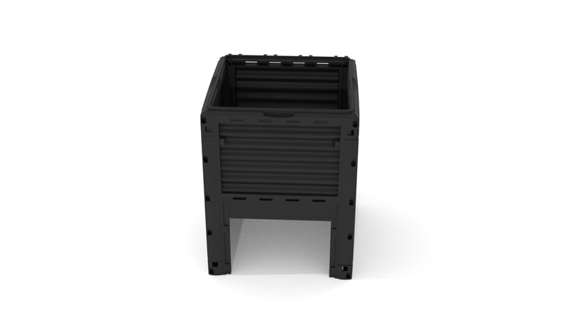 A GIF for attaching the four sides of the Compost Bin