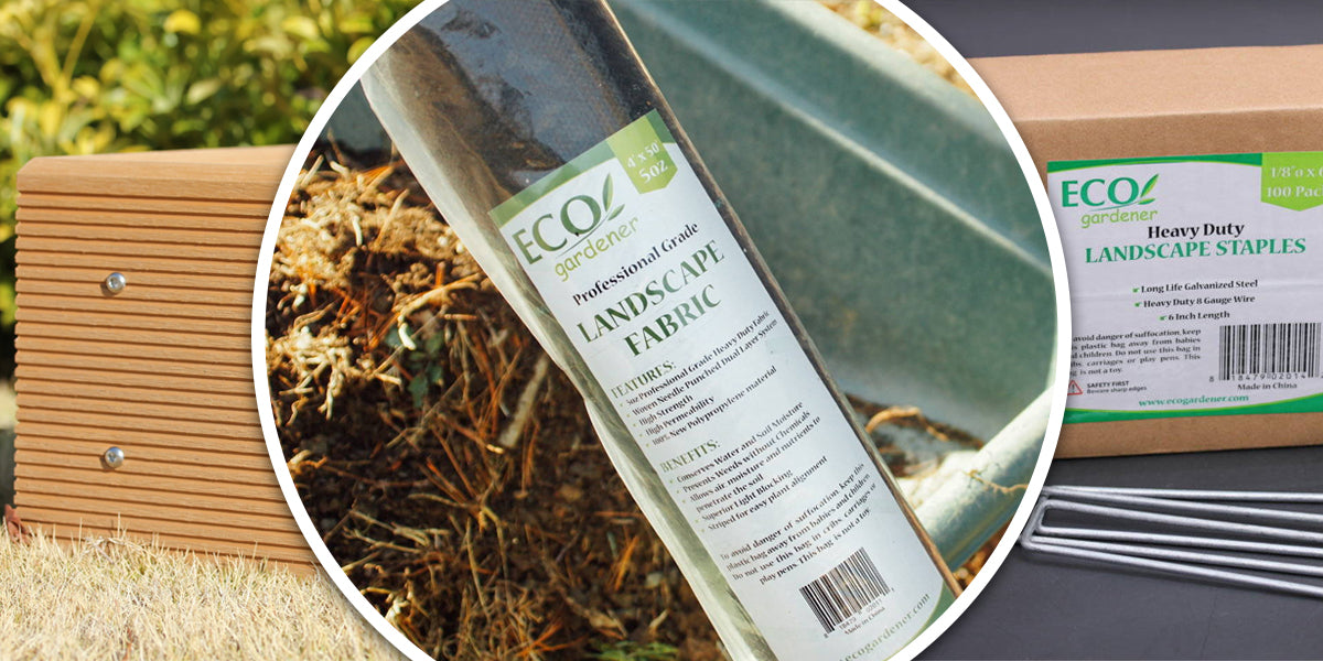 A collection of Ecogardener products