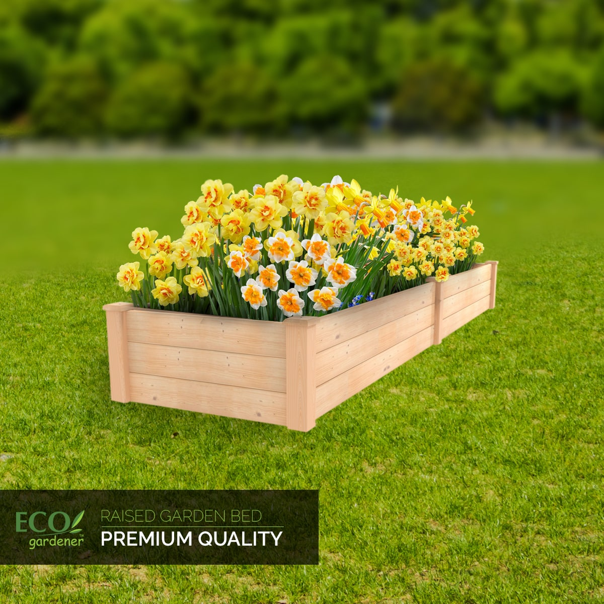 Ecogardener Raised Bed Planter