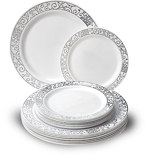 An example of ceramic plates