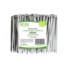 Ecogardener heavy duty landscape staples galvanized