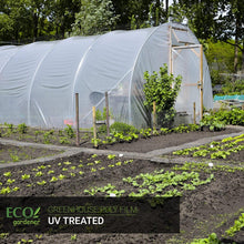A greenhouse using ecogardener greenhouse poly film
