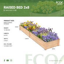 Raised Bed Infographics
