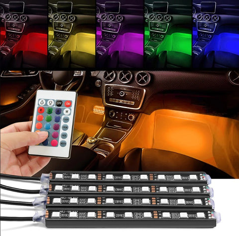 7 colours Car interior LED lights
