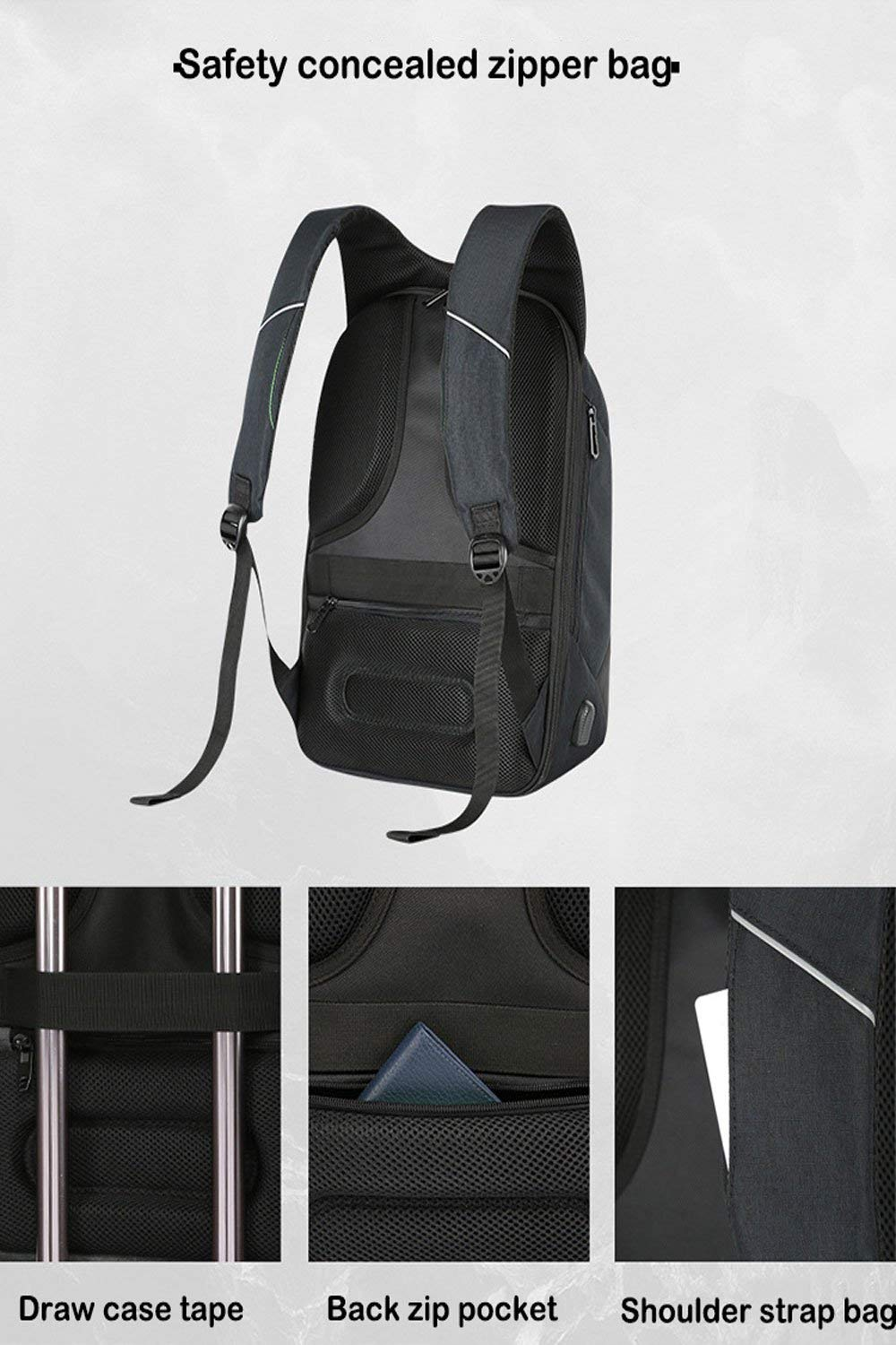 BAIBU Anti-Theft Breathable Laptop Bags review