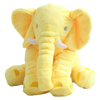 Yellow Elephant pillow