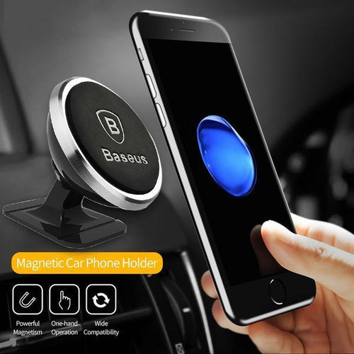 Baseus Magnetic Car Phone Holder - TuneUpTrends.com