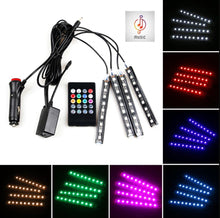 Load image into Gallery viewer, Car RGB LED Strip Interior Light - TuneUpTrends.com